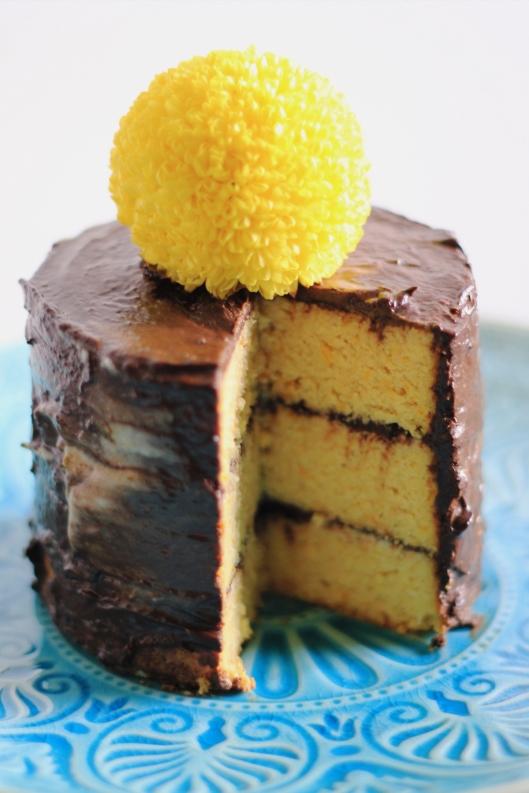 Flourless Orange BIRTHDAY! Cake with Coconut Lime Cream and Chocolate ...